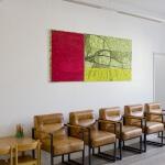 Ulrike Stolte Kunstvermietung praxis nakonz berlin wartebereich 2016