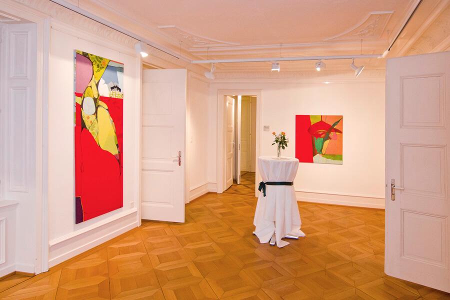 Ulrike Stolte Ausstellung Inspirations Art Academy Erlenbauch Zürich 2012