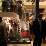 Ulrike Stolte Kunstprojekte individuelle Bildanfertigung Stefanel Fashion Store Hamburg 2012