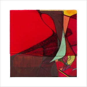 Ulrike Stolte C11 Mosaikzyklus3 30x30cm 2012 sold