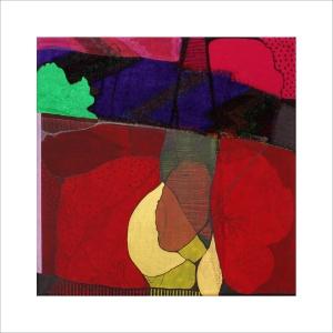 Ulrike Stolte C2 Mosaikzyklus3 30x30cm 2011 sold