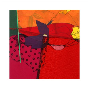 Ulrike Stolte C3 Mosaikzyklus3 30x30cm 2011 sold