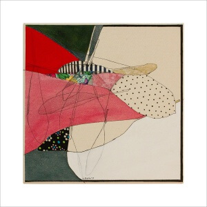 Ulrike Stolte K1 Mosaikzyklus4 30x30cm 2013