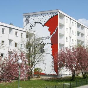Ulrike Stolte Kunstprojekte Fassadengrafik