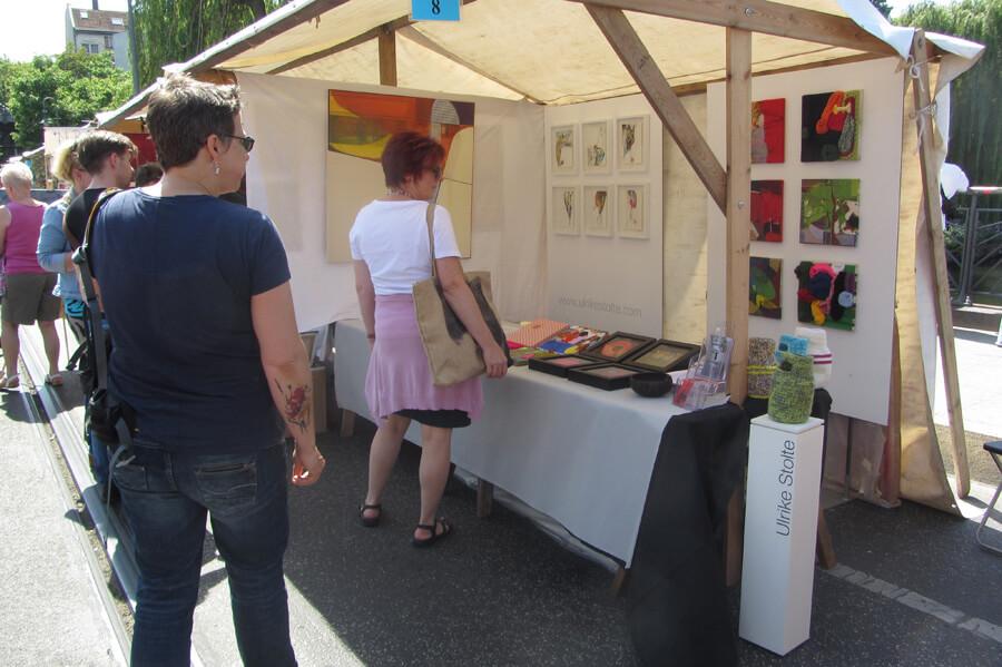 ulrike stolte open air gallery oberbaumbruecke berlin 2015 Stand 8